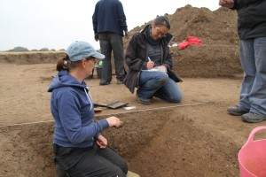 Trench 4 ditch section