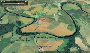 New Crop Marks and Earthworks(Oblique)